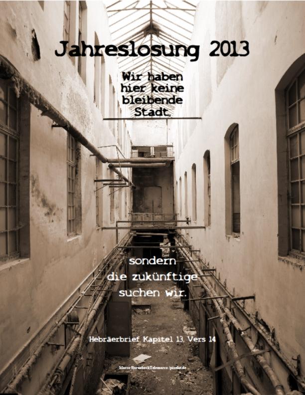 Jahreslosung 2012