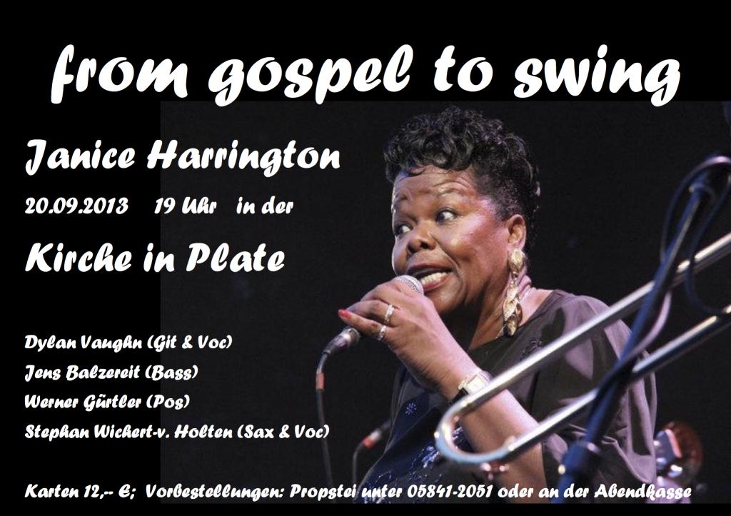 from gospel to swing